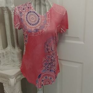 Weekends by Chico's Jovial Zing SS Top